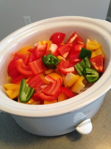Crock pot peppers
